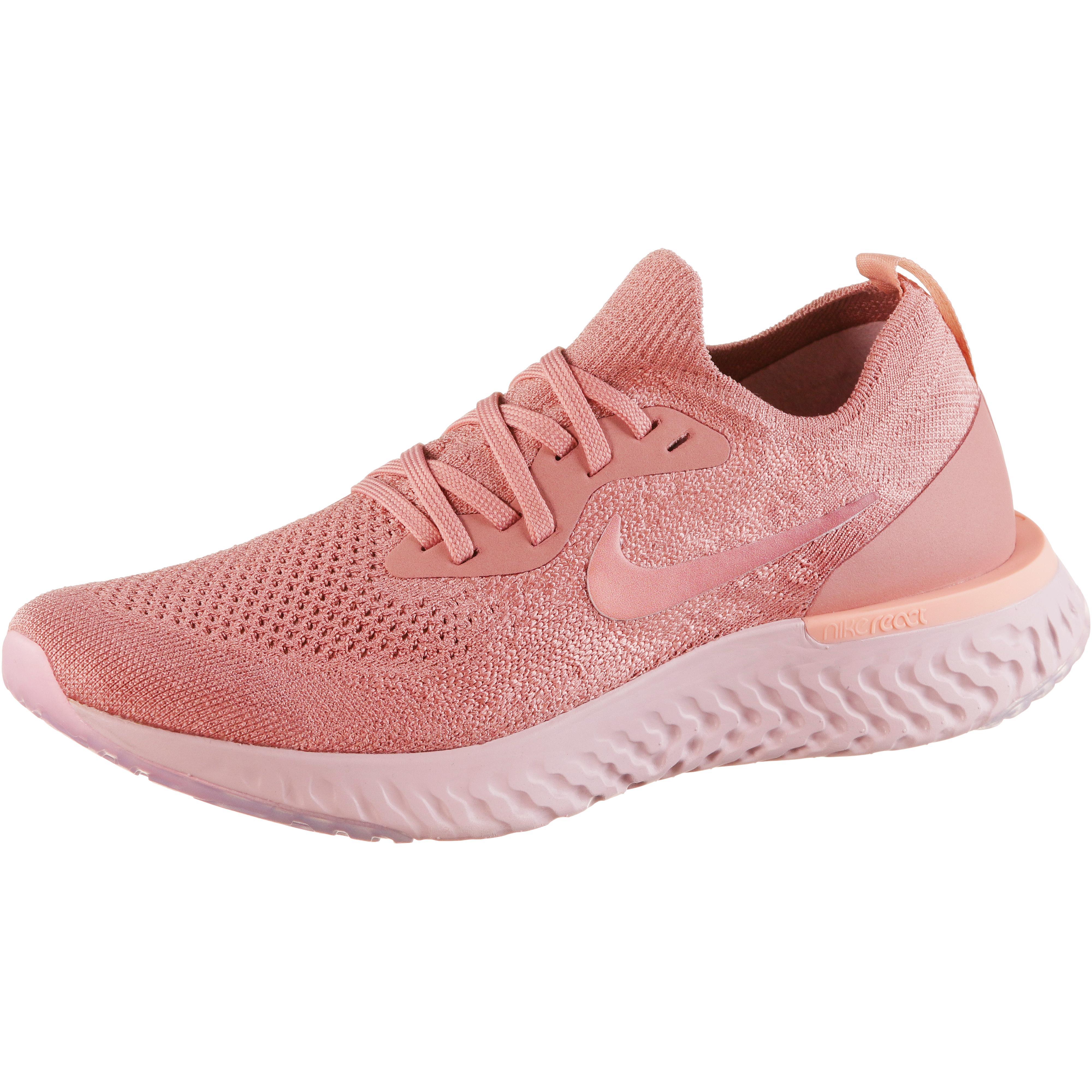Nike Epic React Flyknit Laufschuhe Damen  rust-pink-pink-tint-tropical-pink-barely-rose im Online Shop von  SportScheck kaufen