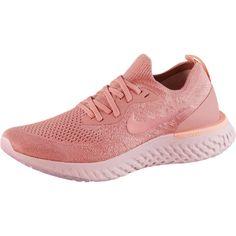 Nike Epic React Flyknit Laufschuhe Damen rust-pink-pink-tint-tropical-pink-barely-rose