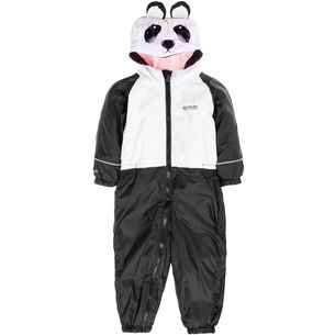 Regatta MUDPLAY III Overall Kinder black-white