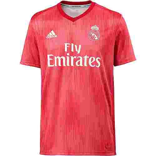 adidas Real Madrid 18/19 CL Fußballtrikot Herren real coral