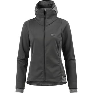 GORE® WEAR R3 Thermo Laufjacke Damen terra grey