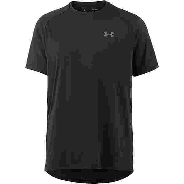 Under Armour Heatgear Tech Funktionsshirt Herren black-graphite