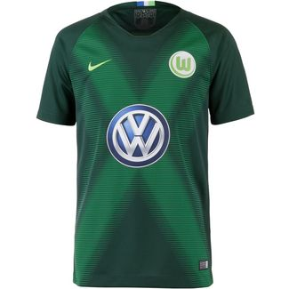 Nike VFL Wolfsburg 18/19 Heim Fußballtrikot Kinder pro green-green strike