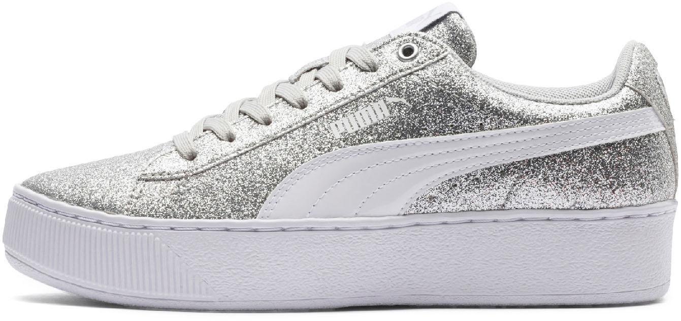PUMA Sneaker Kinder puma silver-puma white-gray violet im Online Shop von  SportScheck kaufen