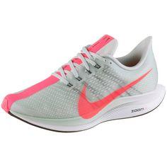Nike ZOOM PEGASUS 35 TURBO Laufschuhe Damen barley grey-hot punch-black-white