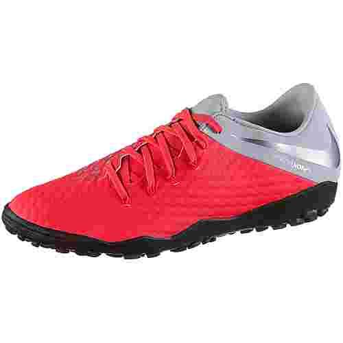 size 40 20f2a fd5c0 Nike HYPERVENOM 3 ACADEMY TF Fußballschuhe lt crimson-mtlc dk grey-wolf  grey-mtlc silver im Online Shop von SportScheck kaufen