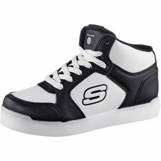 Skechers Energy Lights Sneaker Kinder black-white