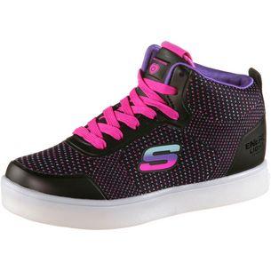 Skechers Energy Lights Sneaker Kinder black-colorful