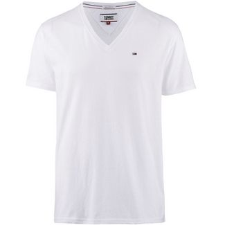 Tommy Jeans Original Triblend V-Shirt Herren classic white