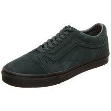Vans Old Skool Sneaker dunkelgrün / schwarz