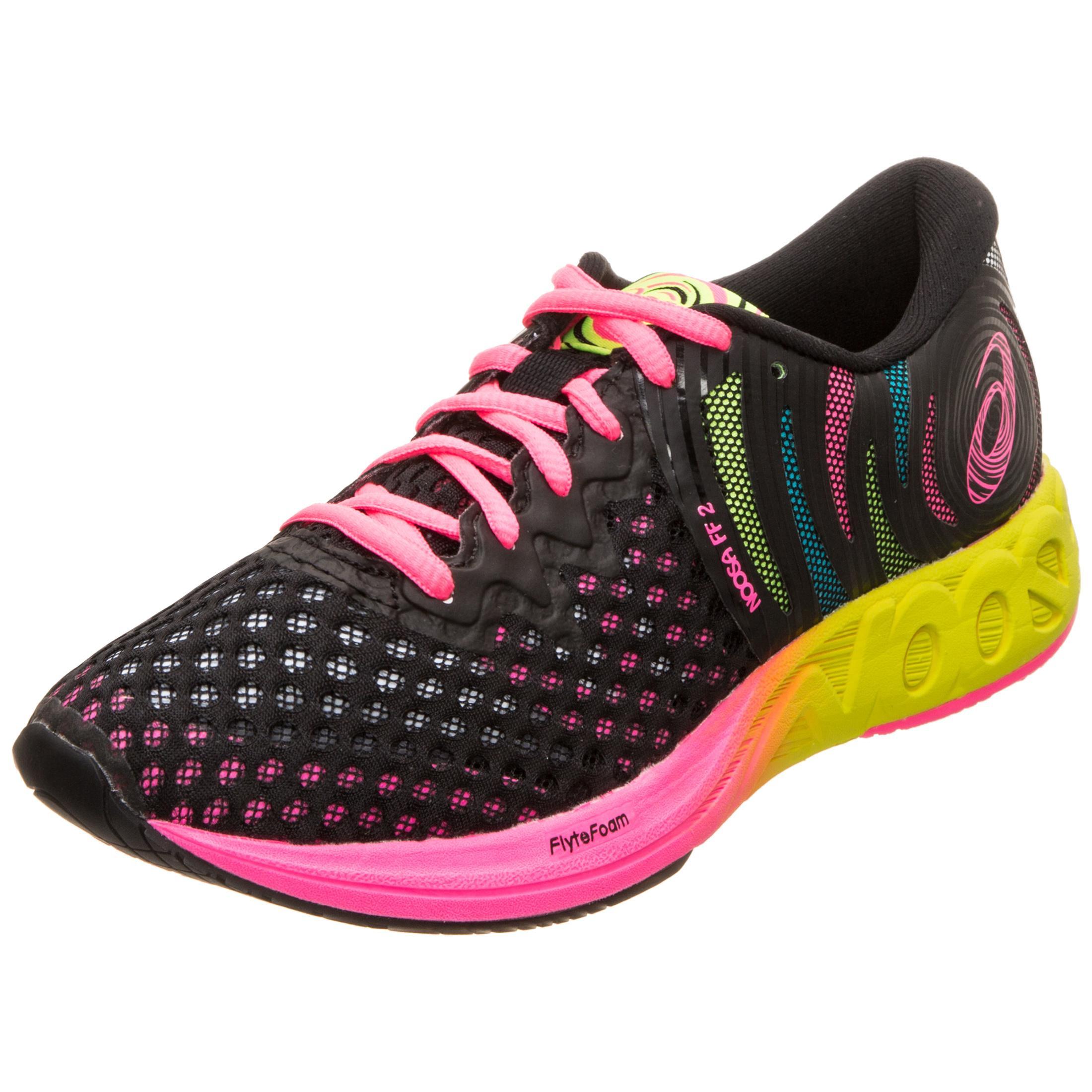 ASICS Gel-Noosa FF 2 Laufschuhe Damen schwarz / pink im Online Shop von  SportScheck kaufen