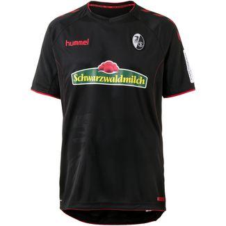 hummel SC Freiburg 18/19 Auswärts Fußballtrikot Herren black-true red