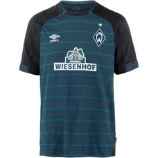 UMBRO Werder Bremen 18/19 Auswärts Fußballtrikot Herren black-legion blue