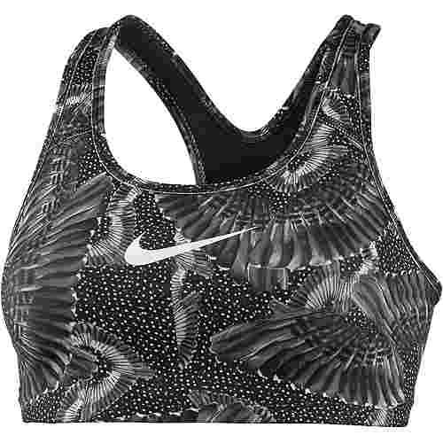 Nike Swoosh Chain Feather Sport-BH Damen pure platinum-black-white