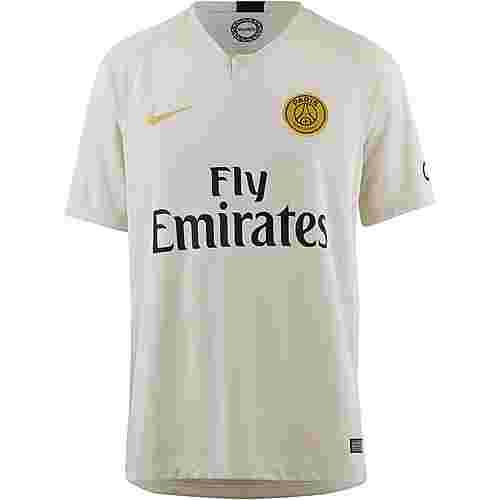 Nike Paris Saint-Germain 18/19 Auswärts Fußballtrikot Herren light bone-truly gold
