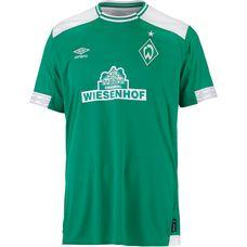 UMBRO Werder Bremen 18/19 Heim Fußballtrikot Herren golf green-brilliant white