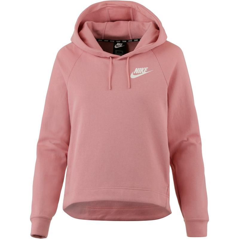 Nike Optic Hoodie Damen Rust Pink Sail Im Online Shop Von Sportscheck Kaufen
