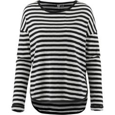 Roxy Langarmshirt Damen TRUE BLACK BIG SIMPLE STRIPE