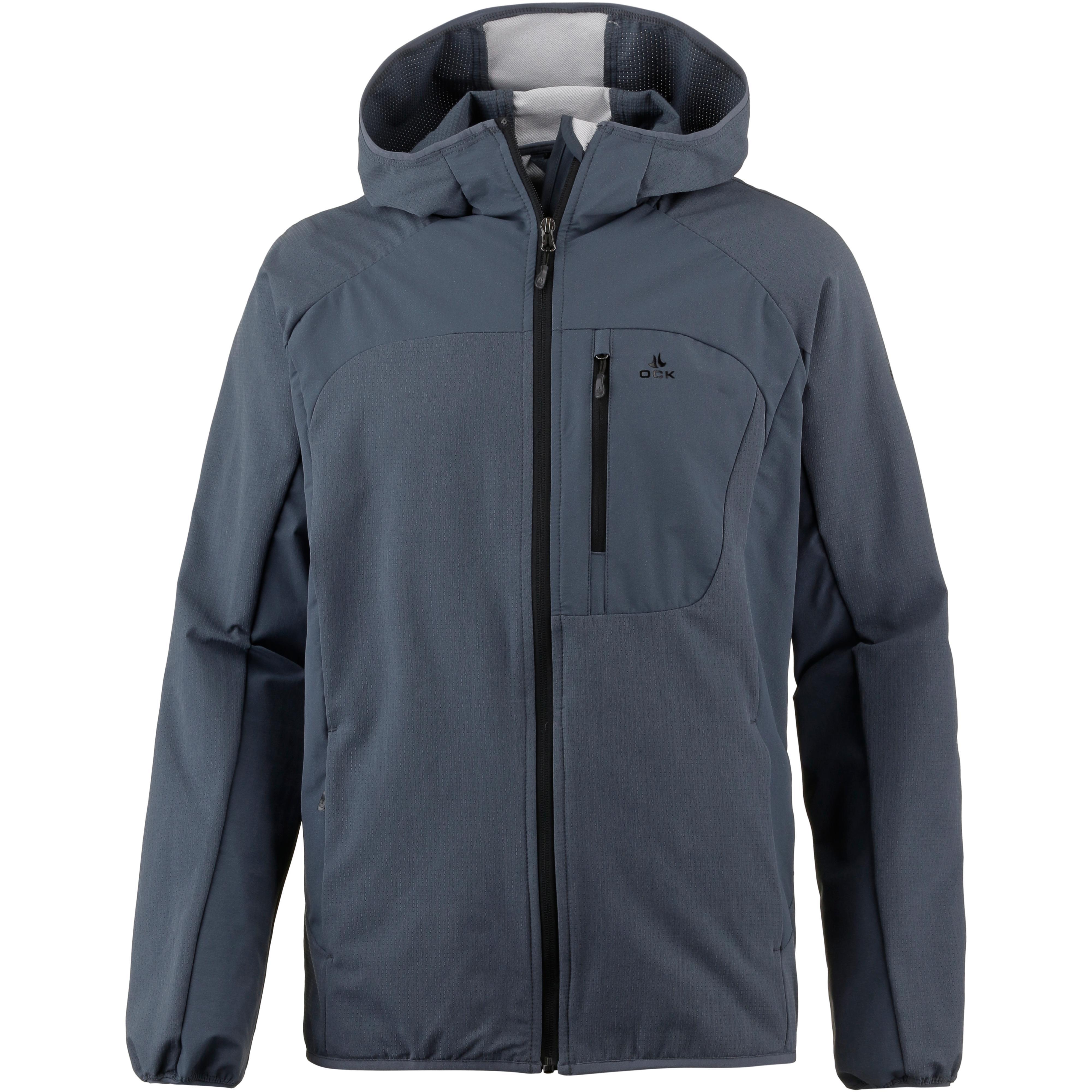 jacken im sale im online shop von sportscheck kaufen  ock softshelljacke herren graublau