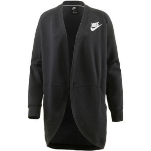 Nike Rally Sweatjacke Damen black-black-white