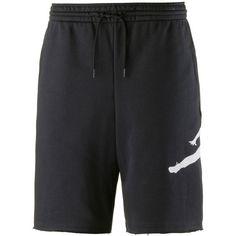 Nike JUMPMAN AIR FLEECE SHORT Basketball-Shorts Herren black-white