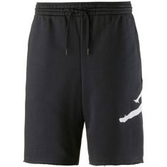 Nike JUMPMAN AIR FLEECE SHORT Shorts Herren black-white
