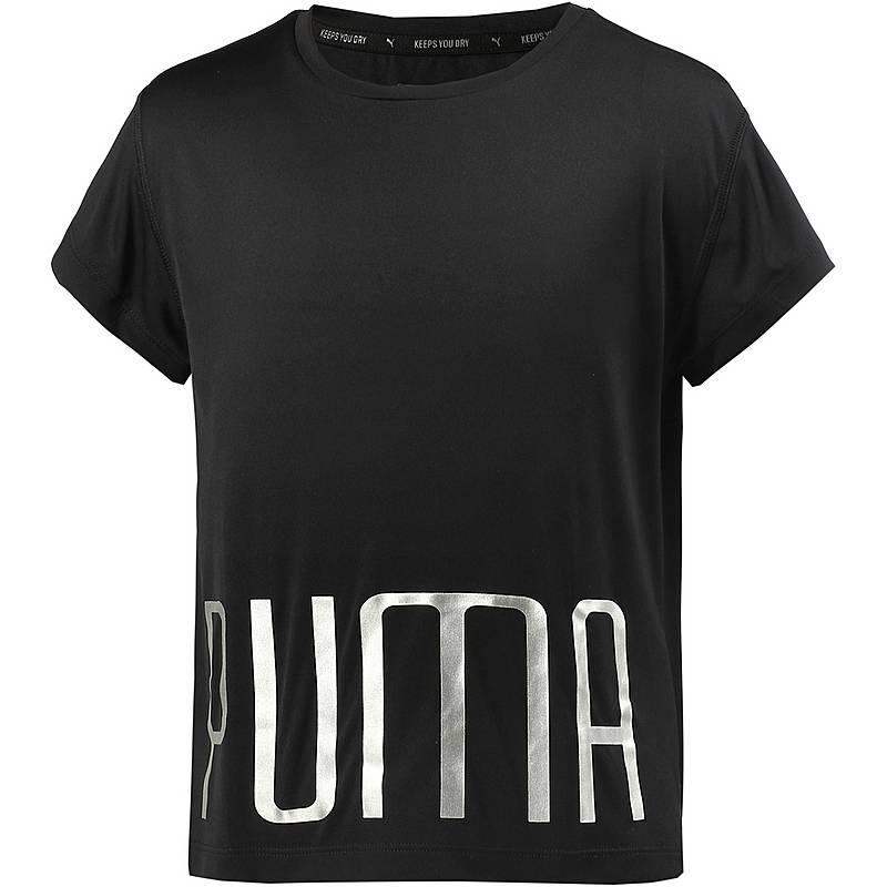 a0ff9f9e8bd3 PUMA Funktionsshirt Mädchen puma black im Online Shop von ...