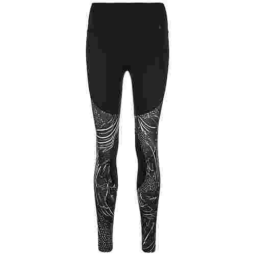 Nike Power Tights Damen schwarz / grau