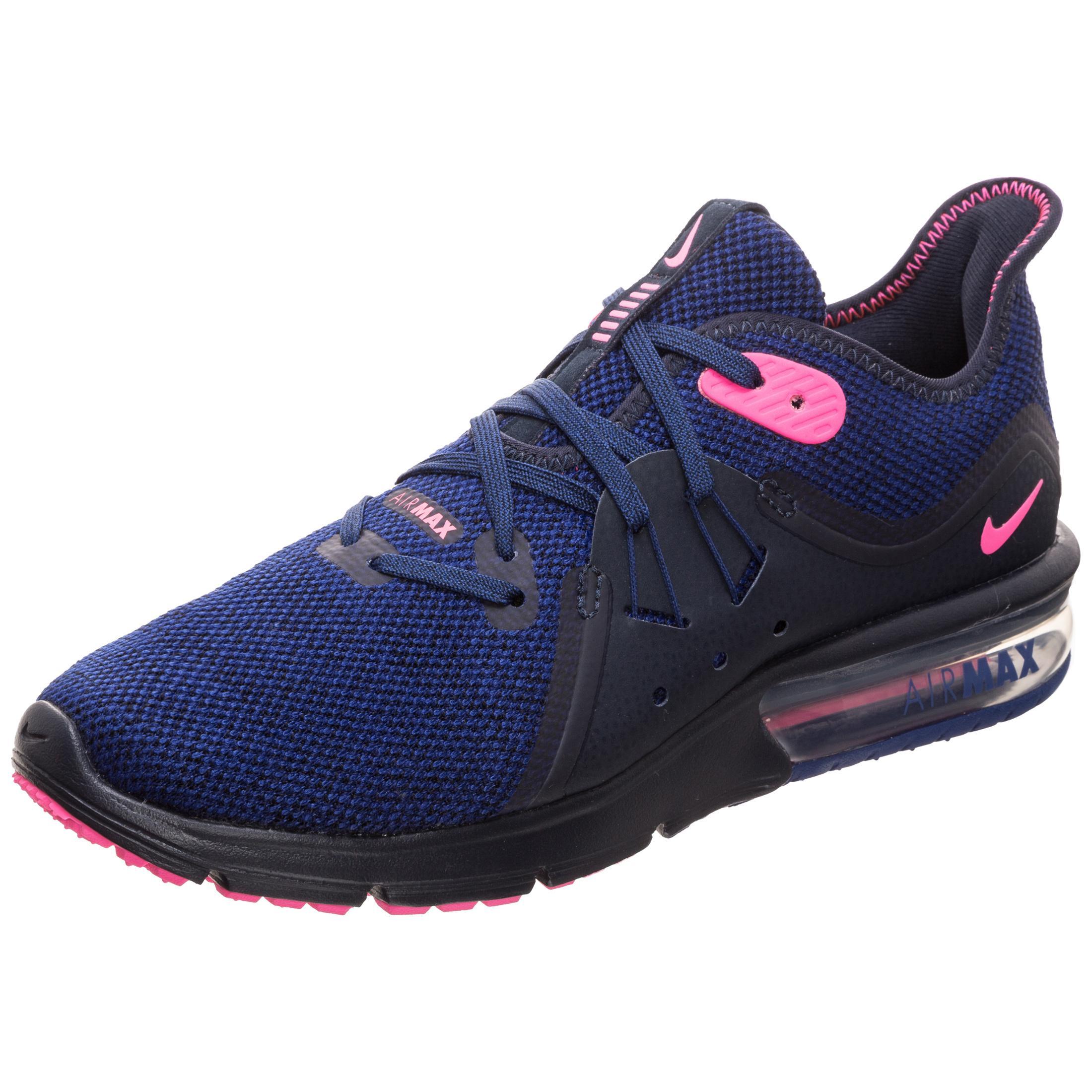 Nike Air Max Sequent 3 Laufschuhe blau Damen blau Laufschuhe   Rosa im Online Shop von SportScheck kaufen Gute Qualität beliebte Schuhe 18b88f