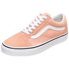 Vans Old Skool Sneaker Damen apricot / weiß