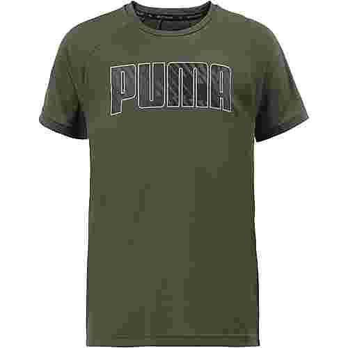 PUMA Funktionsshirt Kinder forest night