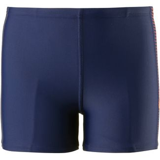 SPEEDO Kastenbadehose Kinder navy fluo orange