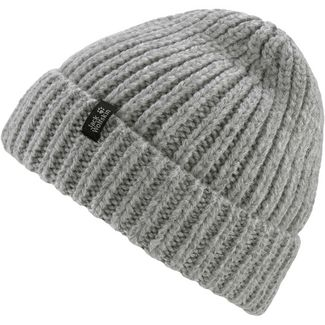 Jack Wolfskin Wintertide Beanie Damen light grey