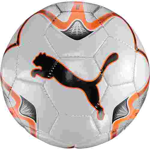 PUMA One Miniball puma white-shocking orange-silver
