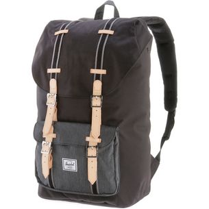 Herschel Little America Daypack black-black denim