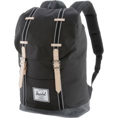 Herschel Retreat Daypack black-black denim