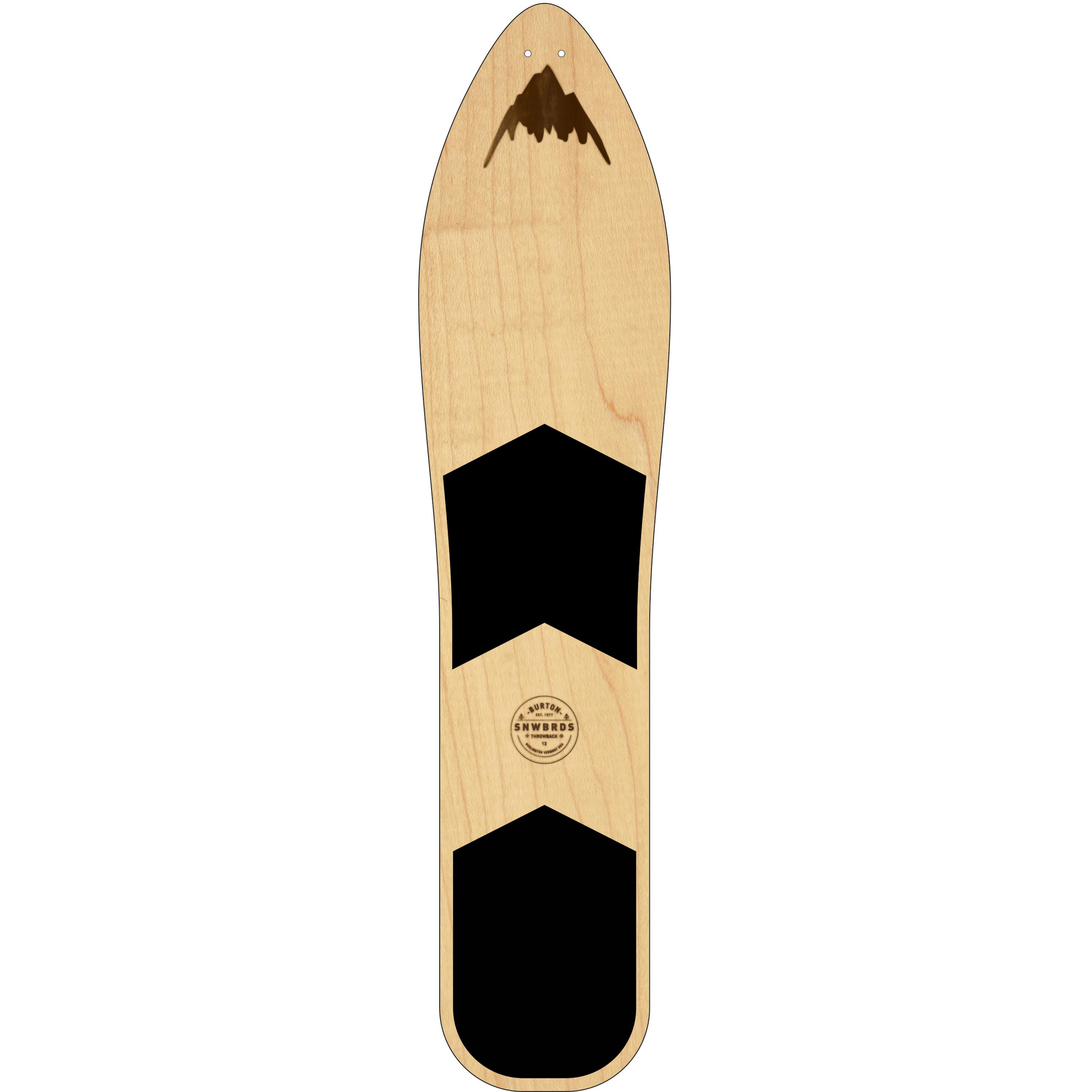 Image of Burton The Throwback All-Mountain Board