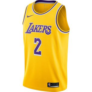 Nike Lonzo Ball Los Angeles Lakers Basketballtrikot Herren amarillo-field purple-white