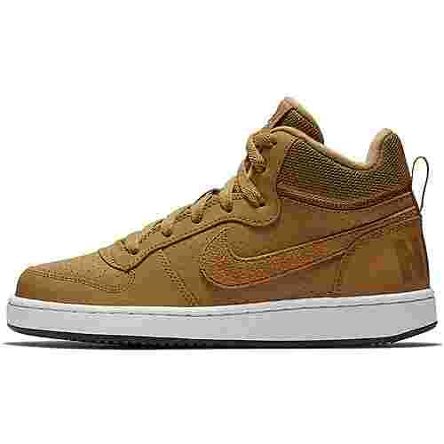 Nike Court Borogh Sneaker Kinder wheat-wheat-summit white-black