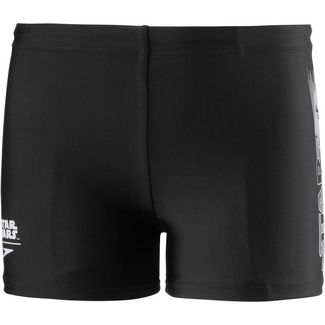 SPEEDO Kastenbadehose Kinder trooperlogoblk-white-riskred