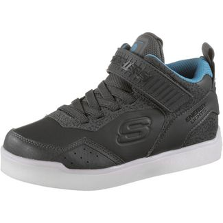 Skechers Energy Lights Sneaker Kinder grey