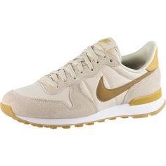 Nike INTERNATIONALIST Sneaker Damen beach-wheat gold-summit white