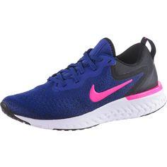 Nike Glide React Laufschuhe Damen deep-royal-blue-pink-blast-black-white