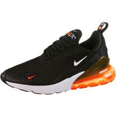 Nike Air Max 270 JDI Sneaker Herren black-white-total orange