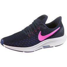 Nike Air Zoom Pegasus 35 Laufschuhe Damen obsidian-pink-blast-deep-royal-blue