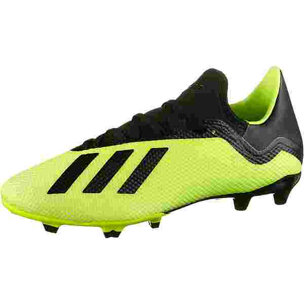 adidas X 18.3 FG Fußballschuhe solar yellow