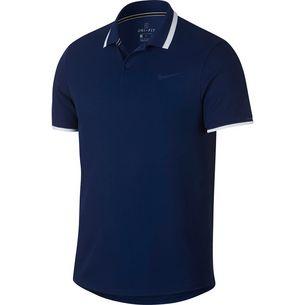Nike Advantage Polo Classic Tennis Polo Herren blue void