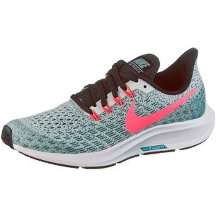 Nike AIR ZOOM PEGASUS Laufschuhe Kinder barely grey-hot punch-geode te