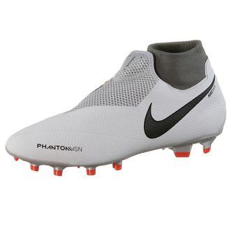 Nike Phantom VSN PRO DF FG Fußballschuhe pure platinum-mtlc dk grey