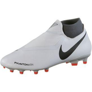 Nike Phantom VSN ACADEMY DF FG/MG Fußballschuhe wolf grey-mtlc dk grey-dk grey-lt crimson-pure platinum